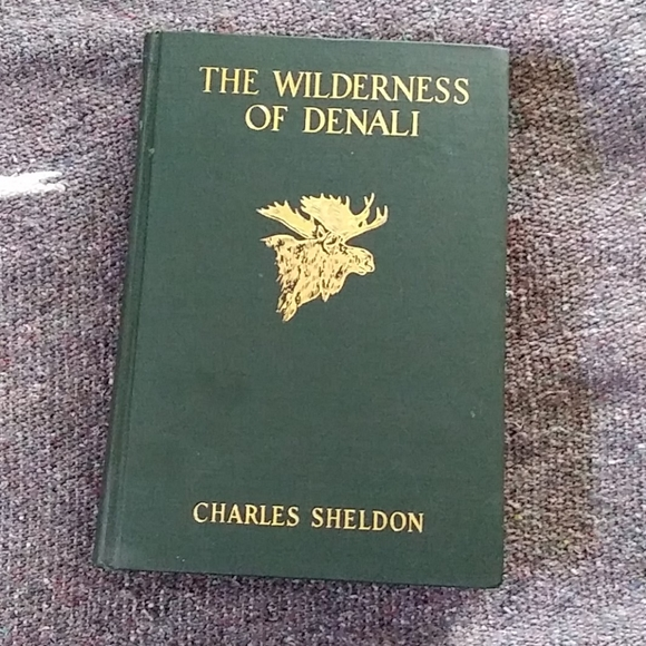 Vintage Other - The Wilderness of Denali-Sheldon Book